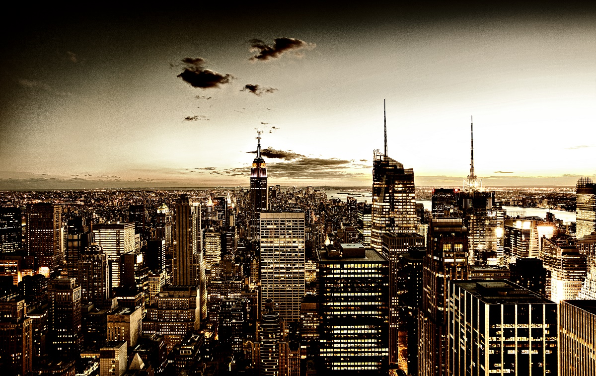 NYC skyline by Fred Marcus Studio