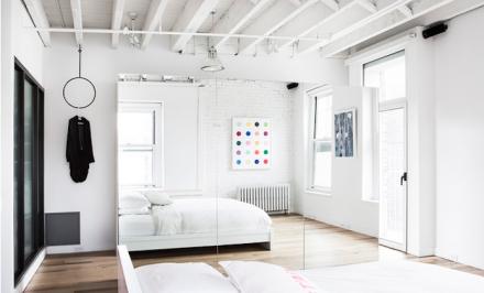 Aa Studio, soho loft, soho bedroom