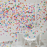 The Obliteration Room, Yayoi Kusama, David Zwirner Gallery, Give Me Love