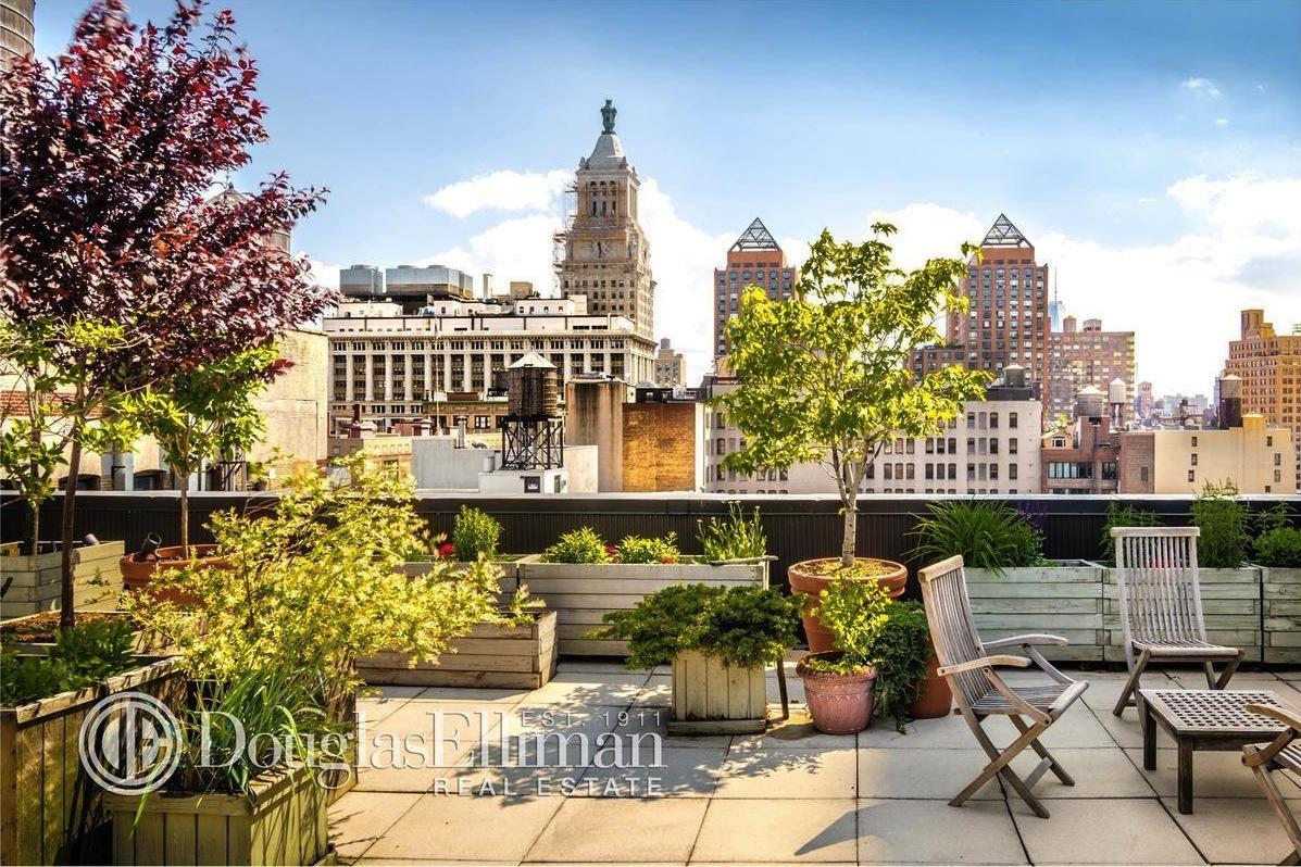 112 East 19th Street, gramercy park, ruggles house, roof garden