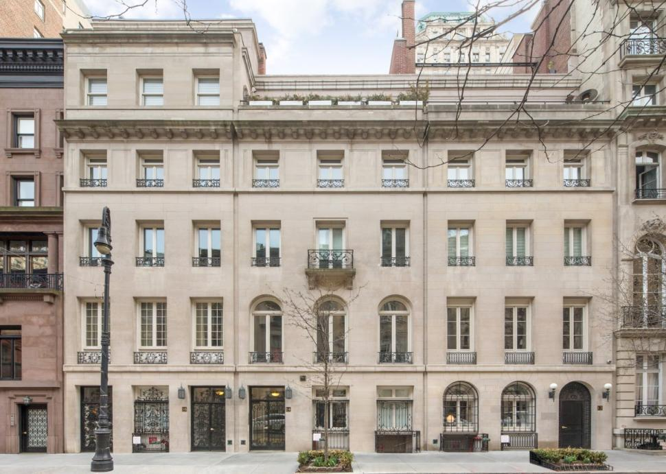 Three ues townhouses list for 120m could be single for Nyc mansions for sale