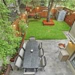 135 Pacific Street, Brooklyn Bridge Park, patio and backyard, apple tree