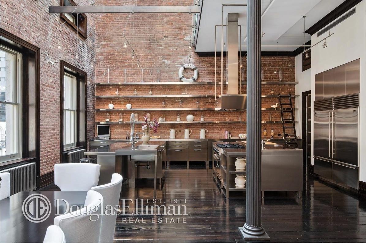 Former Tribeca Mansion Now Holds Spectacular Triplex