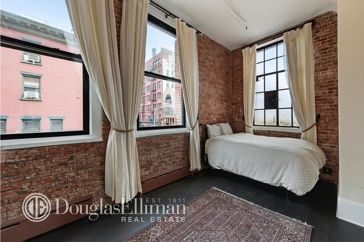 161 Mulberry Street, bedroom, Soho, loft
