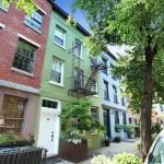 190 Concord Street, Vinegar Hill, Downtown Brooklyn, rear garden