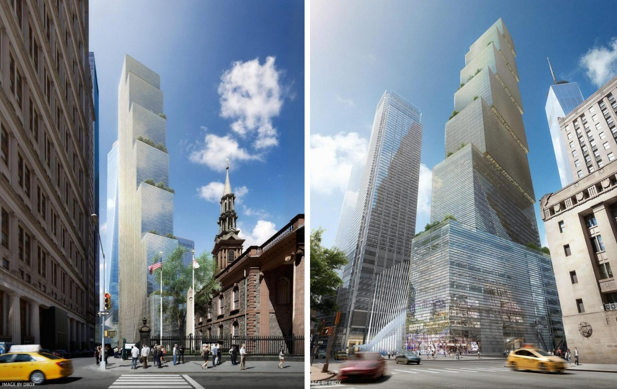 Revealed bjarke ingels 39 design for 2 world trade center for 2 world trade center