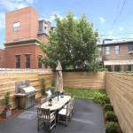 25 Monroe Street, backyard, bed stuy, brownstone,