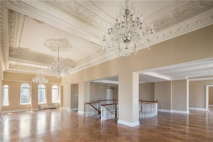 opulent trump park avenue penthouse hangs onto 35m price. Black Bedroom Furniture Sets. Home Design Ideas