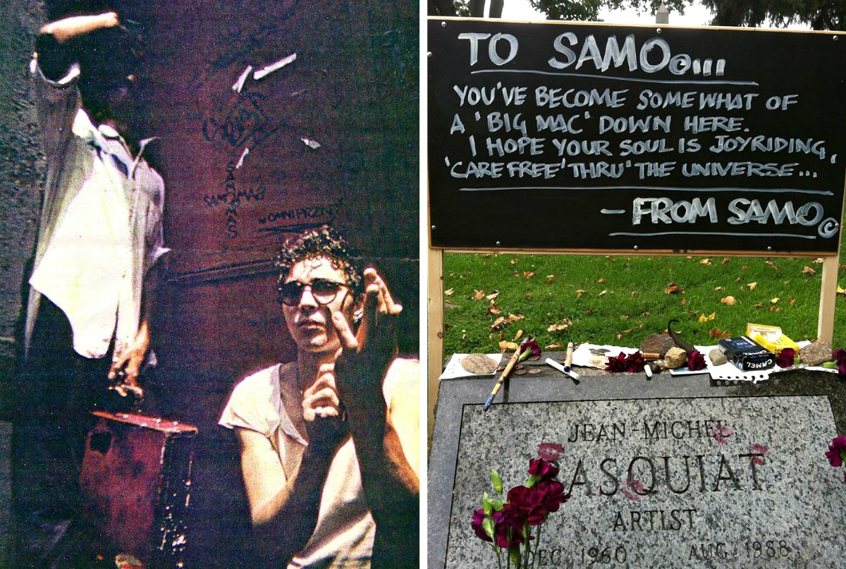 Al Diaz, Jean-Michel Basquiat, SAMO