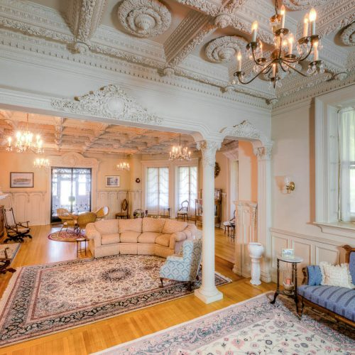 For just $825K you can live like a governor's daughter in this historic victorian home