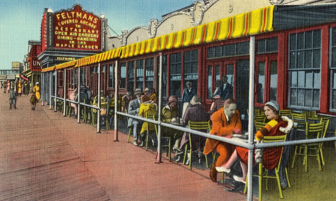 Feltman's Coney Island, Coney Island hot dogs, Coney Island red hots, hot dog history, Charles Feltman