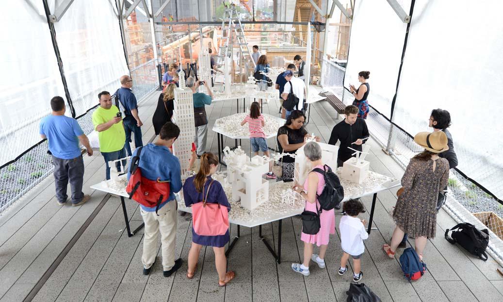 High Line legos, Olafur Eliasson, The Creativity Project, High Line public art
