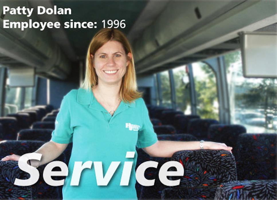 Hampton Jitney, Patty Dolan, Hamptons transportation