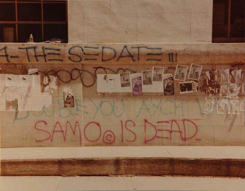 SAMO© is Dead, Jean-Michel Basquiat, Al Diaz