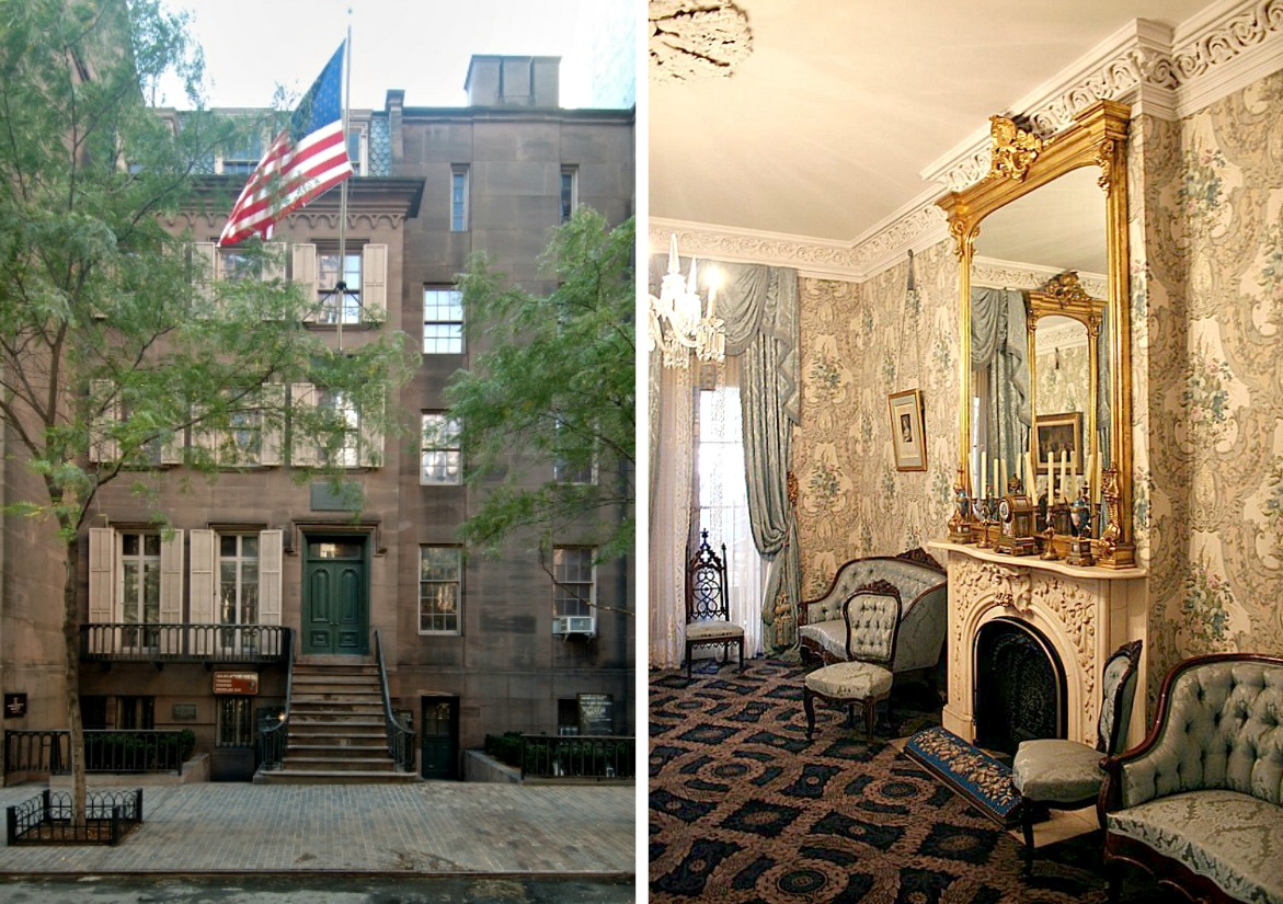 Theodore Roosevelt Birthplace, 28 East 20th Street, NYC house museums, NYC homes of U.S. Presidents