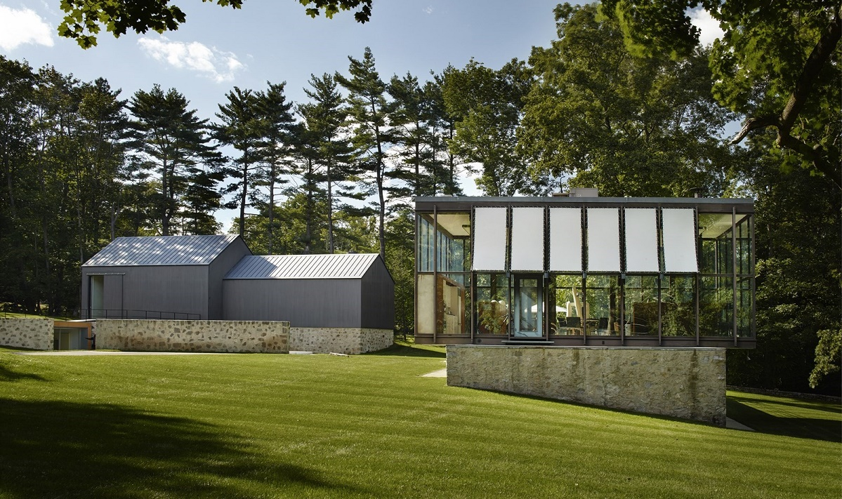 15 Must See Historic Architecture Around Connecticut as well Following A Meticulous Renovation Philip Johnsons Wiley House Is On The Market For 14m likewise Sunken Living Room Design 2 further Fleetwood Windows furthermore Warehouse Conversion In Melbourne Australia. on mid century modern homes connecticut