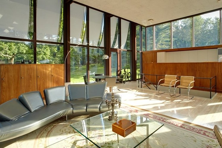 Following A Meticulous Renovation Philip Johnson S Wiley
