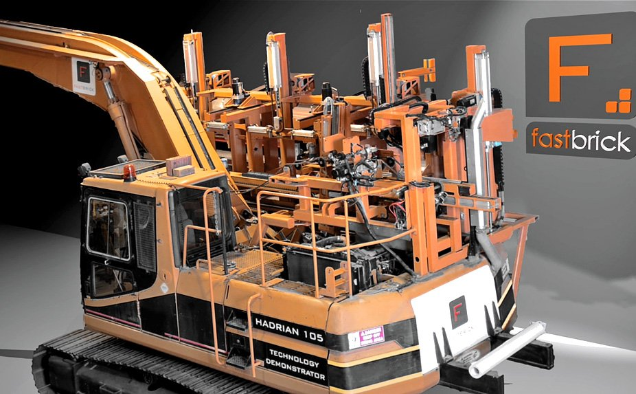 hadrian bricklaying robot by Marc Pivac