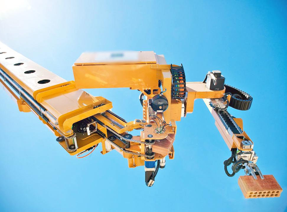Hadrian bricklaying robot can construct a house in just - Construir casas baratas ...