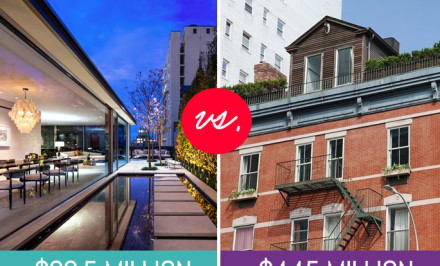 203 East 13th Street, 7 Harrison Street, penthouse, rooftop garden, cool listings, manhattan real estate, tribeca, east village, high and low, rooftop cottage