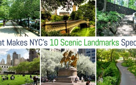 NYC scenic landmarks