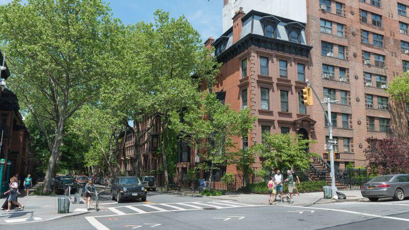 Fort Greene, NYC street trees