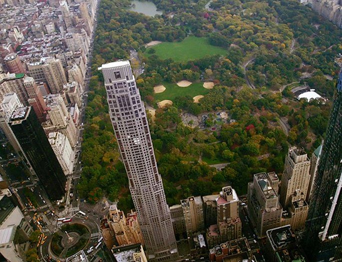 Construction update robert a m stern 39 s 220 central park for New york city penthouses central park