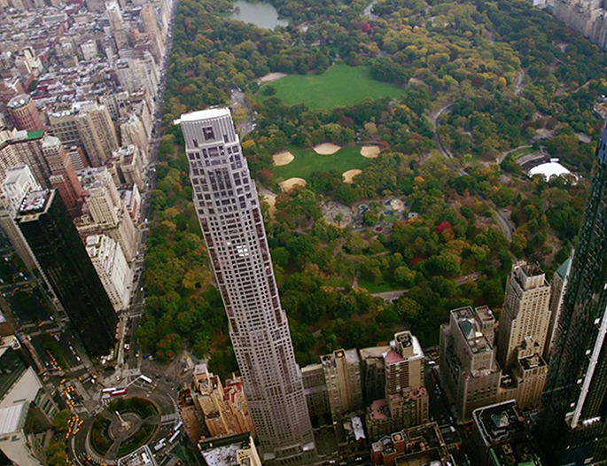 Hedge fund tycoon may be the buyer of 200m penthouse at for Central park penthouses for sale