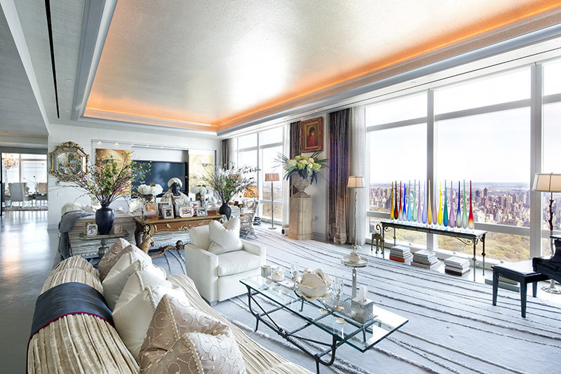 51m time warner center penthouse sale is a record for the for Brooklyn penthouses for sale