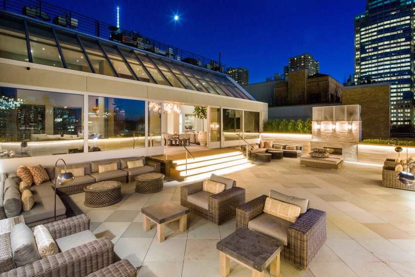 35 North Moore Street, Deron Williams, NYC celebrity real estate, Tribeca penthouse, homes of NBA players