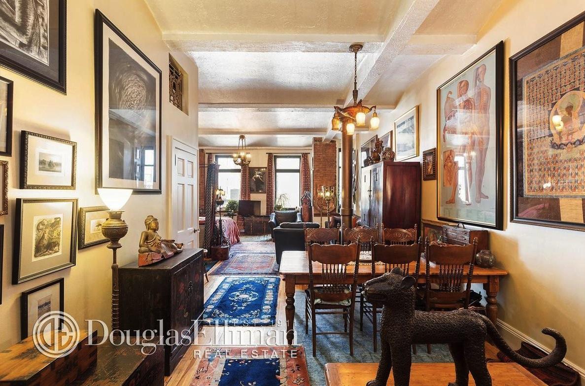 39 East 12th Street, co-op, living room