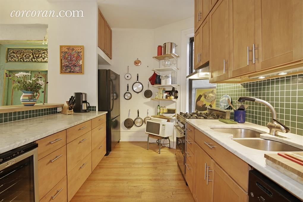 404 3rd Street, kitchen, Park Slope, co-op