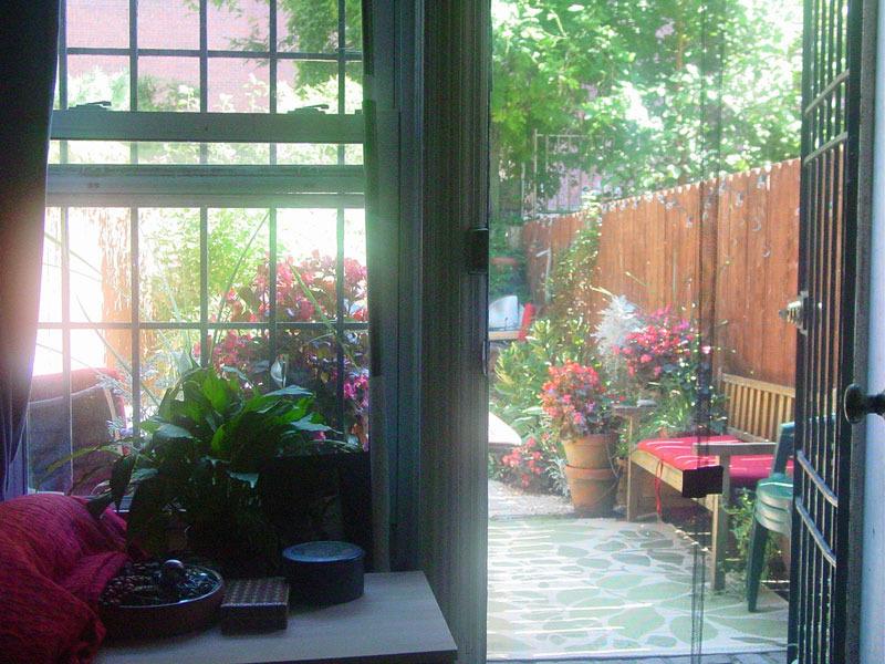 429 7th Avenue, Park Slope, backyard, co-op