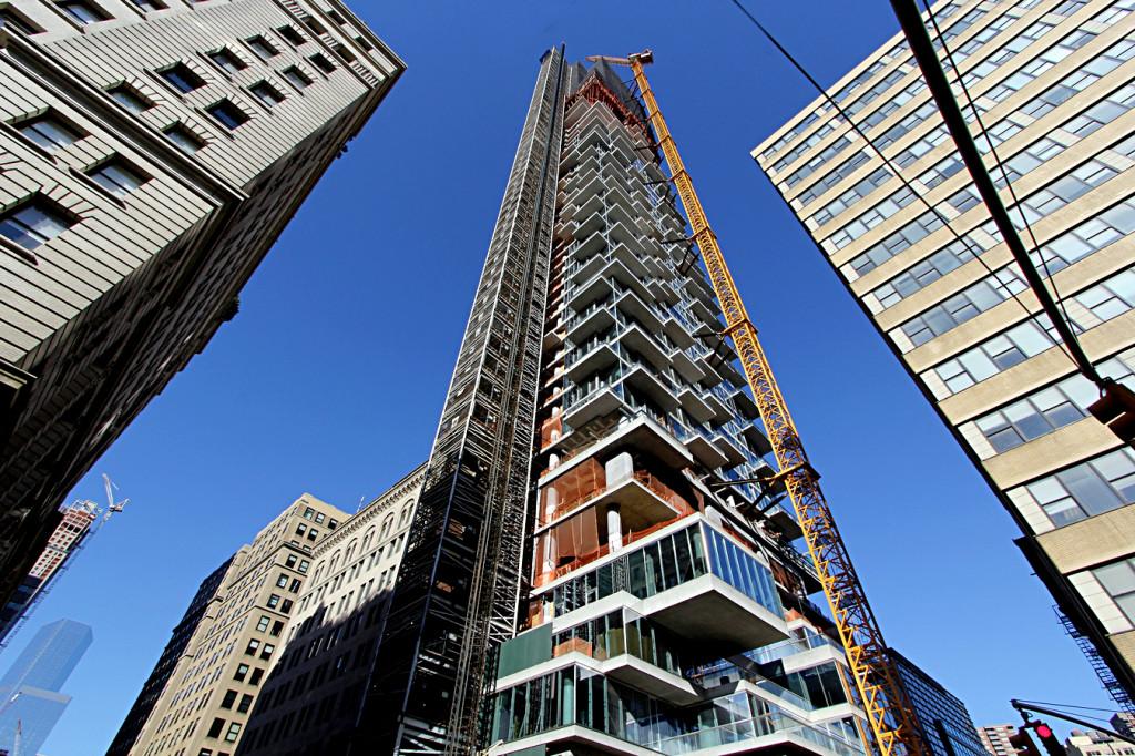 56 Leonard, Herzog de Meuron, Tribeca, skyscrapers, Alexico, Hines, Luxury Condos (7)