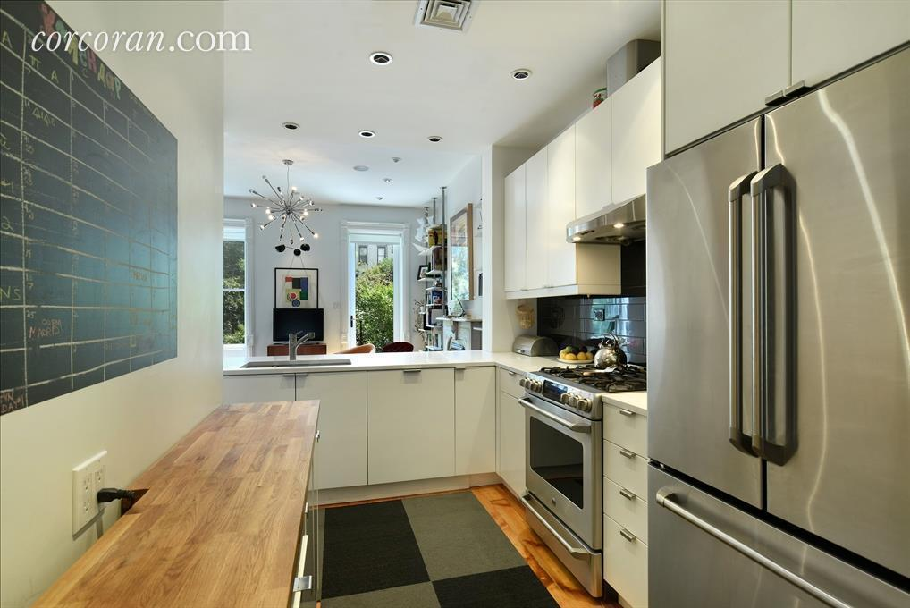 598 Bergen Street, kitchen, renovation, townhouse