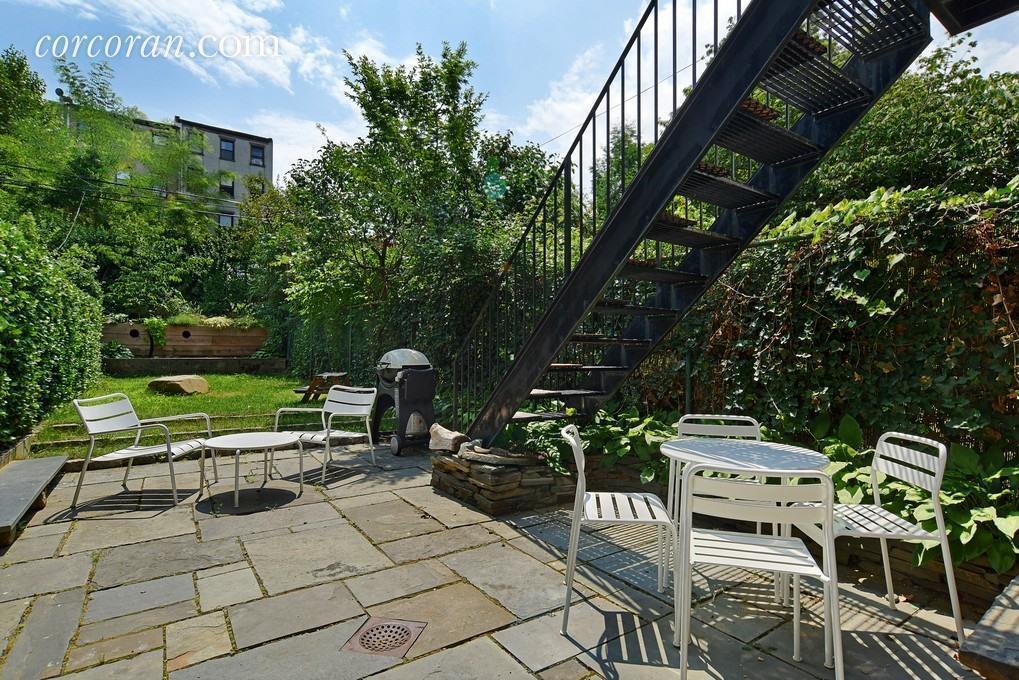 598 Bergen Street, patio, backyard, townhouse, Brooklyn