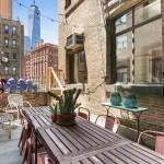 90 Hudson Street, Tribeca, loft, patio