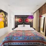 90 Hudson Street, bedroom, Tribeca, loft