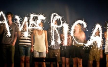 America, fireworks