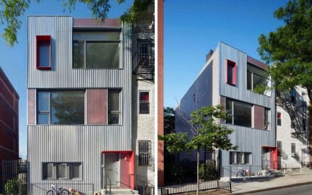 Etelamaki Architecture, Park Slope Townhouse, modern townhouse, Brooklyn design