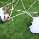 Hubs, geodesic dome, build your own geodesic dome