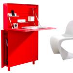 Michael Hilgers' ghostly desk Flatmate