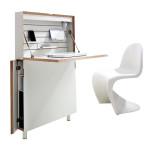 Michael Hilgers, Berlin designers, ghostly desk, Flatmate, Interior Innovation Award, narrow desk, Müller Möbelwerkstätten