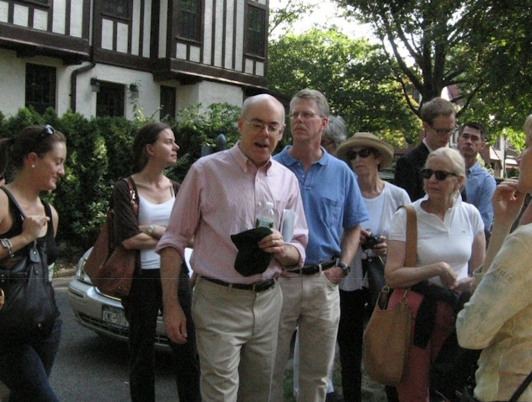 Francis Morrone, walking tour, tour guide