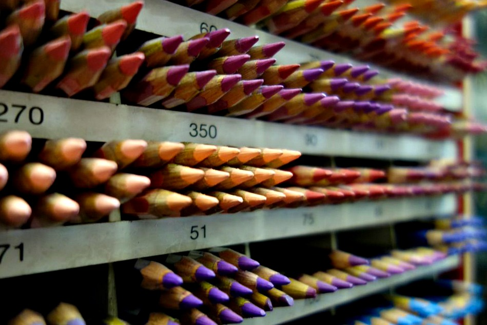 New York Central Art Supply, East Village small business, colored pencils