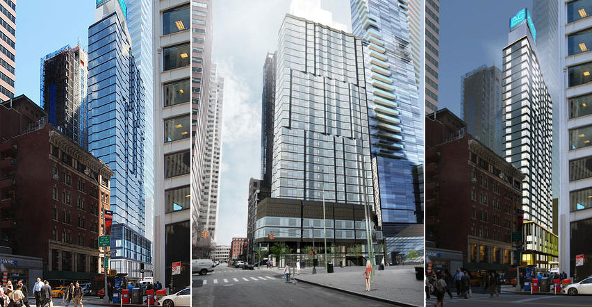 One Seaport, 161 Maiden Lane, Peter Poon, GHWA, Downtown, financial district, skyscraper (23)