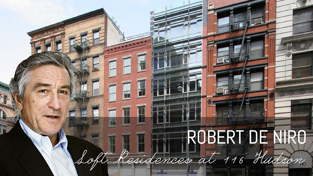 Actors and filmmakers of tribeca the movie mecca downtown for Real estate in tribeca