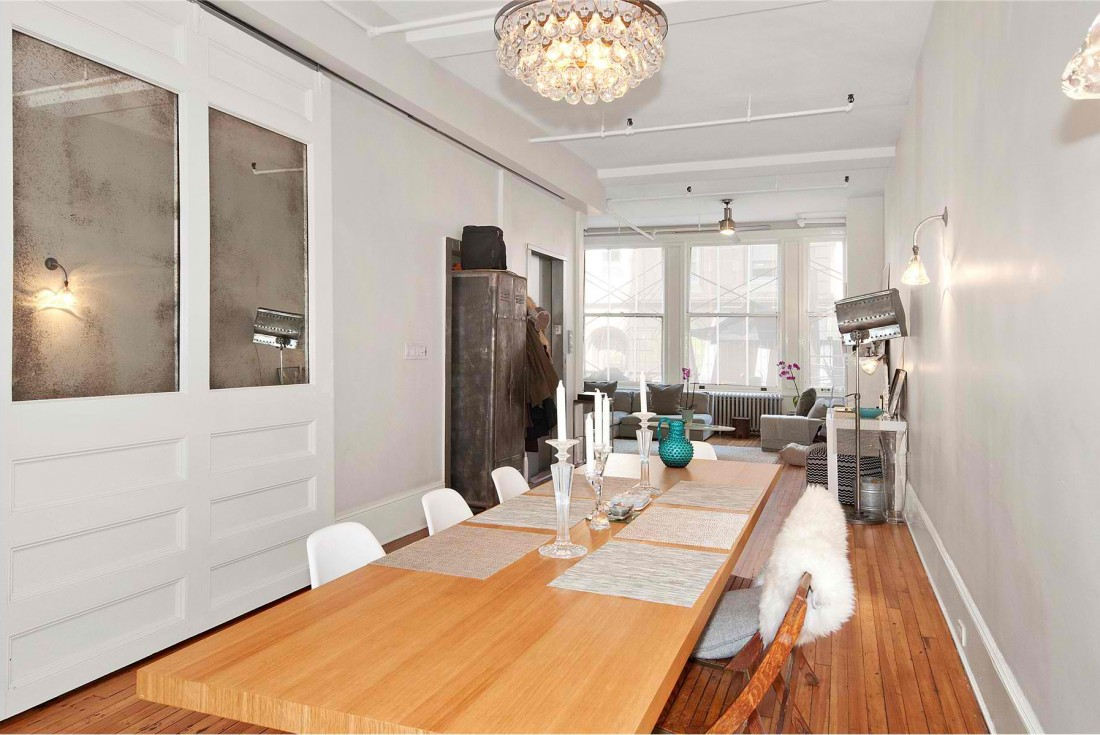 Kimberly Peck 39 S All White Union Square Loft Is Surprisingly Perfect For A Modern Family 6sqft