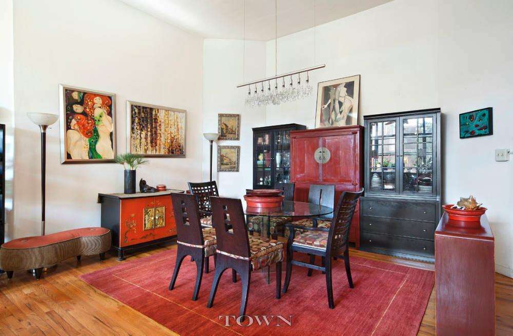 110 Clifton Place, Clinton Hill, Brooklyn, condo, loft, dining room