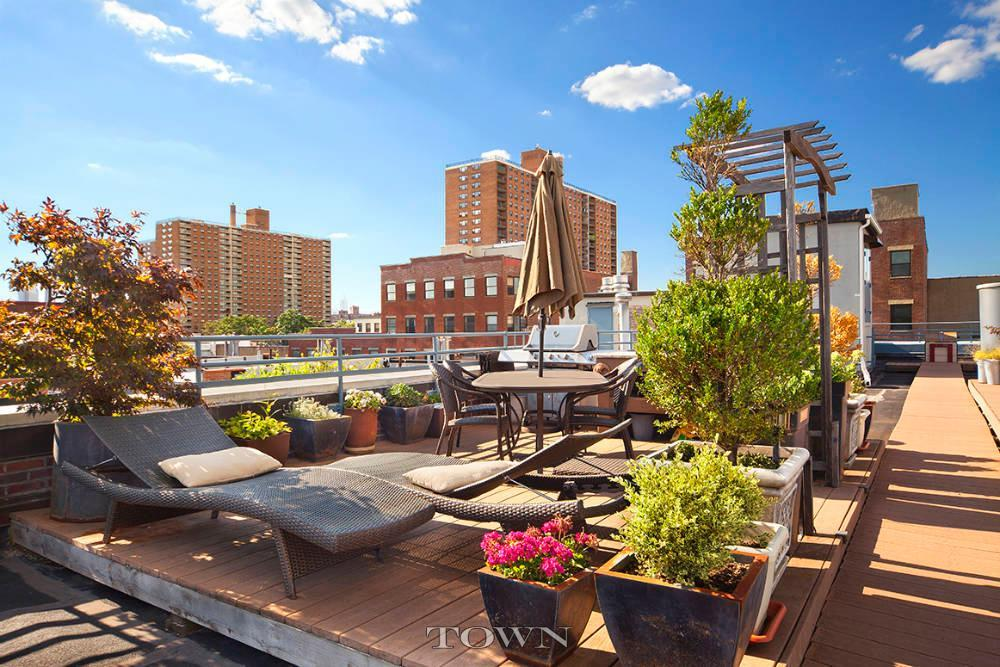 110 Clifton Place, roof deck, clinton hill,